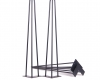 Hairpin Metal Table Legs 3rod 10mm
